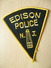 Patches: EDISON NEW JERSEY NJ POLICE PATCH(NEW, apx. 4.14x4inch)