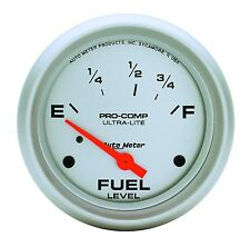 "AUTO METER 4415 2 5/8"" ULTRA-LITE FUEL LEVEL GUAGE FORD & CHRYSLER"