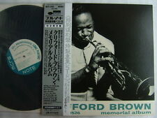 CLIFFORD BROWN MEMORIAL ALBUM / JAPAN MONO BLUE NOTE WITH SILVER OBI