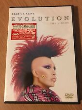 DEAD OR ALIVE/Pete Burns SEALED Japanese DVD Evolution with Sticker!  Never Open