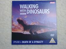 BBC WALKING WITH DINOSAURS  DEATH OF A DYNASTY DVD