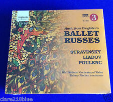 NEW Music Diaghilevs Ballet Russes 3 CD 2011 Firebird Petrushka Rite of Spring