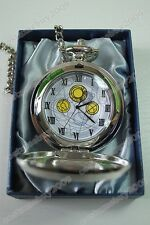 Who is Doctor Dr Who David Tennant Masters Fob Watch Pocket Watch+Chain 2pcs Set