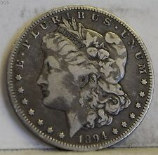 1894-O Morgan Silver Dollar *Free S/H After 1st Item*