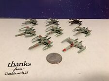 Micro Machines Star Wars Ships Lot Of 8 V3 X-wings