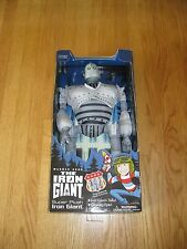 """21"""" Talking Iron Giant Plush Toy Mint With Box By Warner Bros Trendmasters 1999"""