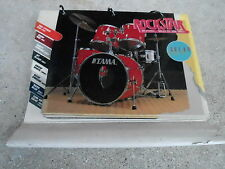 VINTAGE TAMA DRUM COLOR ROCKSTAR counter store display
