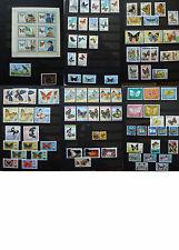 Briefmarkensammlung / Collection  _ ca. 210 Briefmarken / Stamps _Schmetterlinge