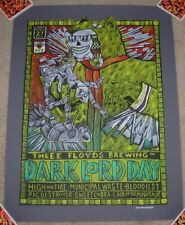 THREE FLOYDS BREWING Poster DARK LORD DAY 2013 Label Art craft beer brewery 3