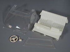 Windshield Seat Steering Wheel Dashboard Set Tamiya RC 1/10 Toyota Hilux Bruiser