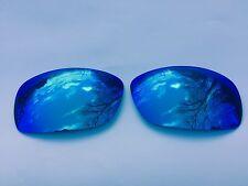 NUOVO incisa con specchio Polarized Ice Blue Lenti di Ricambio Oakley Hijinx