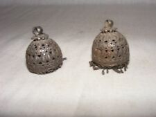 A Pair of Early period silver Mughal Ear ring condition as per photo