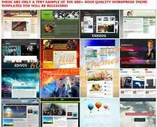 600 Plus Premium WordPress Themes Templates With Resell Rights..cd