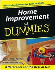 Home Improvement For Dummies paperback book FREE SHIPPING dummys maintenance