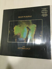 DEEP PURPLE ANTHOLOGY MEGA RARE INDIAN 2 LP harvest 1985 RECORD GATEFOLD NM