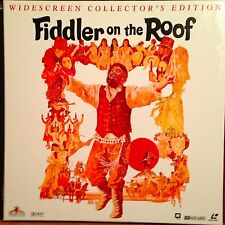 Fiddler On The Roof Laserdisc Boxset ML105841  Buy 6 For Free Shipping