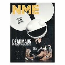 The NEW MUSICAL EXPRESS NME 2 DECEMBER 2016 DEADMAU5 Cover n.m.e. DeadMaus