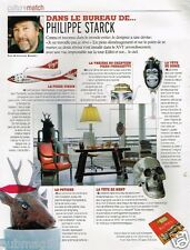 Coupure de Presse Clipping 2007 (1 page) Philippe Starck