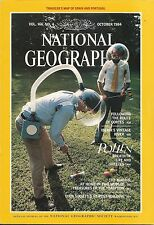 National Geographic Octo 1984 Spain Portugal Iberia Vintage Cortes Pollen Maoris