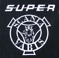 SUPER+SCANIA VABIS Front Logo Made Of Mirror Polished Stainless Steel