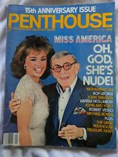 SEPTEMBER 1984 PENTHOUSE MAGAZINE - GEORGE BURNS - VANESSA WILLIAMS