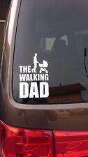 The Walking Dad Fun Aufkleber/JDM Sticker Vatertag  Baby On Board Premium Folie