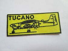 Tucano Embroidered Patch -  Iron or Sew On - 80 x 32mm - P023
