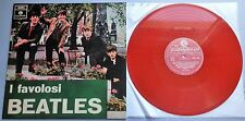 The Beatles - I Favolosi Beatles 2010 Red Vinyl Reproduction LP