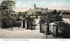 B2240 Scotland West park and University Glasgow front/back scan