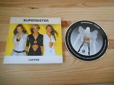CD Pop Supersister - Coffee (1 Song) Promo GUT RECORDS