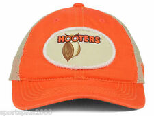 Hooters Rumble Trucker 100% Cotton Distressed Style Snapback Cap Hat - Free Ship