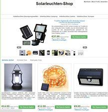 Solarleuchten-Shop, Amazon-Shop, Online-Shop, Affiliate-Shop