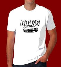 Alfa Romeo Alfetta T Shirt GTV GTV6 V6 Dad gift classic Retro Race Car inspired