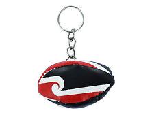 PORTACHIAVI pelle neozelandese pallone rugby bandiera MAORI maglia polo