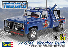 Revell Monogram 1977 GMC Pickup Truck Wrecker model kit 1/25
