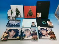 CD EXO SET MAMA Miracle in December Ex'act Sing For You Photocard Xiumin Chen DO