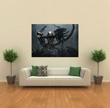 ALIENS VS PREDATOR 2 NEW GIANT LARGE ART PRINT POSTER PICTURE WALL G307