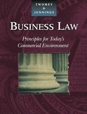 Business Law: Principles for Today's Commercial Environment, Jennings, Marianne
