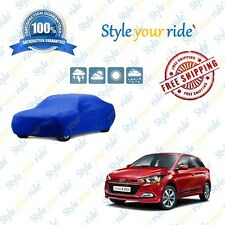 Hyundai Elite i20 Car Body Cover In Blue Colour (Matty) (SUR-235)