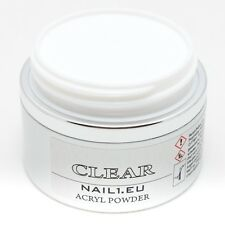 Acryl Pulver Clear 50 ml/41g klar transparent / Acrylpulver Akrylpuder Powder