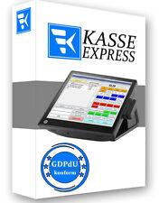 WIN Kassensoftware EXPRESSKASSE GASTRO GDPdU KONFORM für Restaurant Kantine Cafe