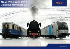 ROCO 80817 Catalog New Products 2017 Catalogue nouveautés H0 H0e NEW/NOUVEAU