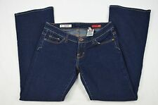 X2 Express Slim W10 Low Rise Flare Leg Dark Blue Denim Jeans size 8 Regular