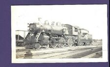 Grand Trunk Western GTW 4-6-0 Steam Locomotive #1579 Vintage B&W Railroad Photo