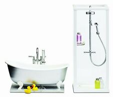 Lundby 1:18 Scale Dolls House Smaland Shower and Bath Set