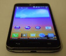 LG Optimus L70 MS323 - 4GB - Black (MetroPCS) Smartphone BROKEN AS IS