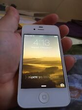 Apple iPhone 4 8GB - White - Factory Unlocked -