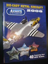 Armour Collection, Die-cast Metal Aircraft 2006