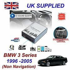 For BMW 3 MP3 SD USB CD AUX Input Audio Adapter Digital CD Changer Module 3+6 PN
