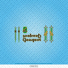 Peugeot Bicycle Decals - Transfers - Stickers - Set 600